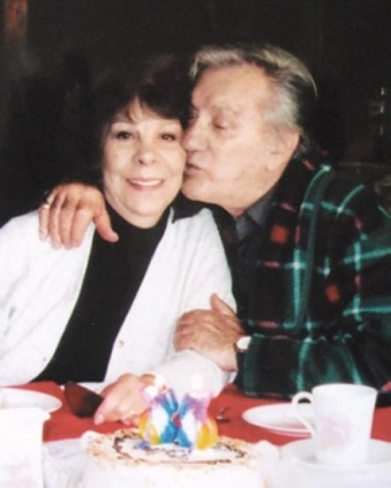 Alma Guzmán, esposa de Joaquín Cordero, falleció hace siete meses.