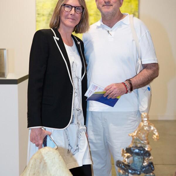Sarah Gore y Enrique Norten