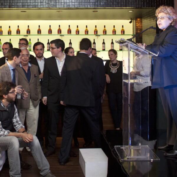 Rossana Fuentes, vicepresidenta editorial de Grupo Expansión, dio inicio a la premiación y felicitó la convicción y gran trabajo que llevan a cabo los emprendedores mexicanos.