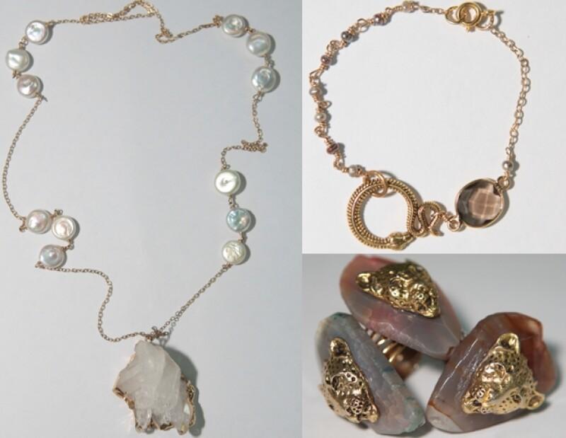 En `Creadora´ hay accesorios de la marca `Un amuleto para todo y para nada´ de Andrea Bolaños Cacho.