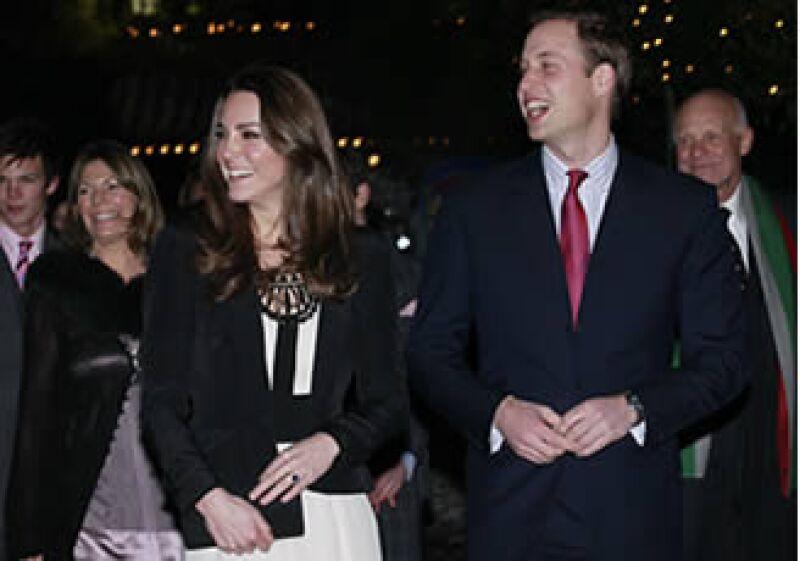 La boda real entre el príncipe británico Guillermo y Kate Middleton, será el 29 de abril. (Foto: AP)