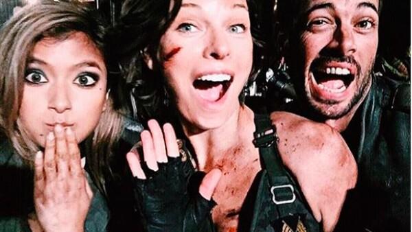 La actriz publicó en Instagram una fotografía en la que aparece junto al actor cubano, conocido en México por su participación en telenovelas.