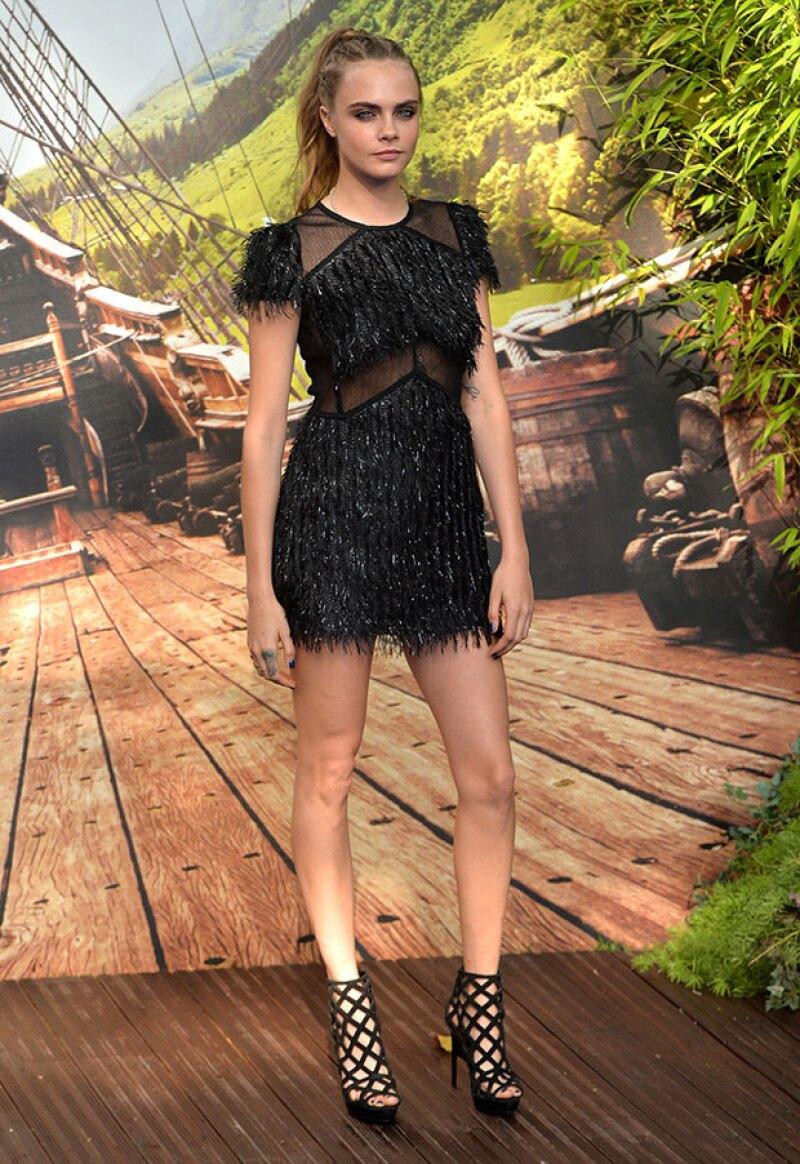 La modelo reveló que detrás de su imagen fuerte hay una infancia que fue muy triste.