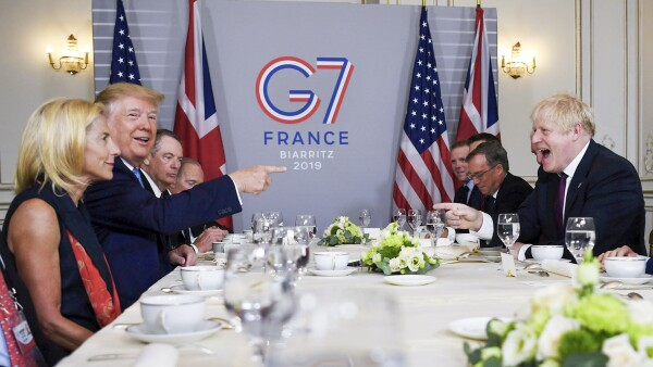 G7 Trump-Johnson