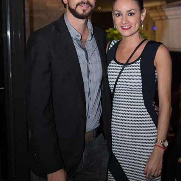 Alonso Rivero y Daniela Gutiérrez