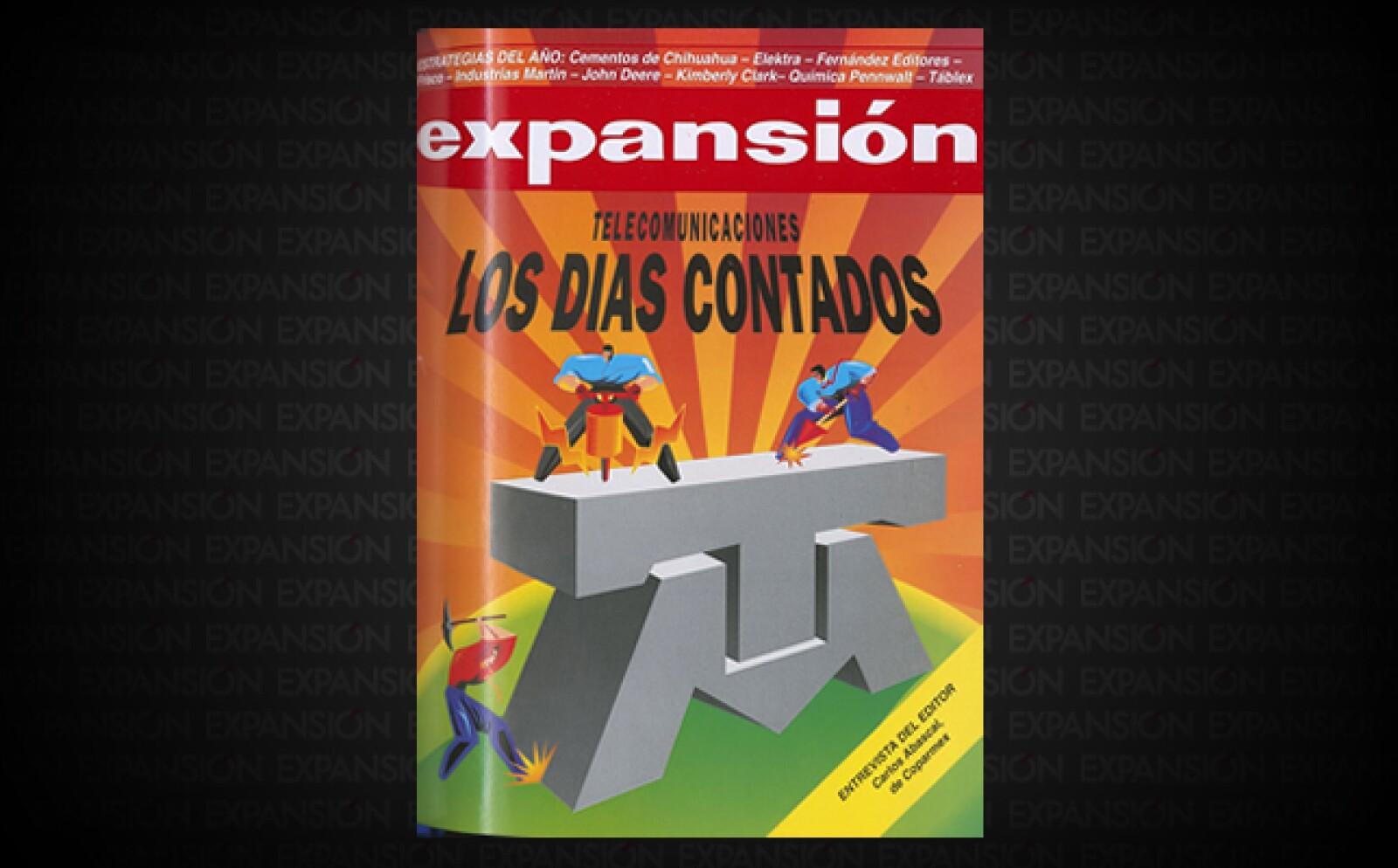 """En 1990, la paraestatal Telmex fue privatizada. Carlos Slim Helú la compró y hasta 1995 fue la única en el negocio. La ley de telecom de ese año abría el sector a la competencia y se anunciaba una """"revolución tecnológica"""" en México."""