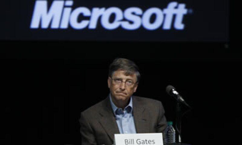 Bill Gates ha dicho que no tenía idea de que su decisión de retirar una herramienta para desarrolladores externos despistaría a Novell. (Foto: AP)