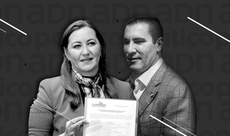Martha Erika Alonso y Rafael Moreno Valle