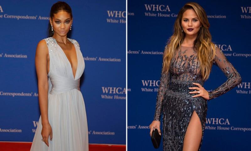 Todas las modelos llenaron de belleza y elegancia la Casa Blanca.