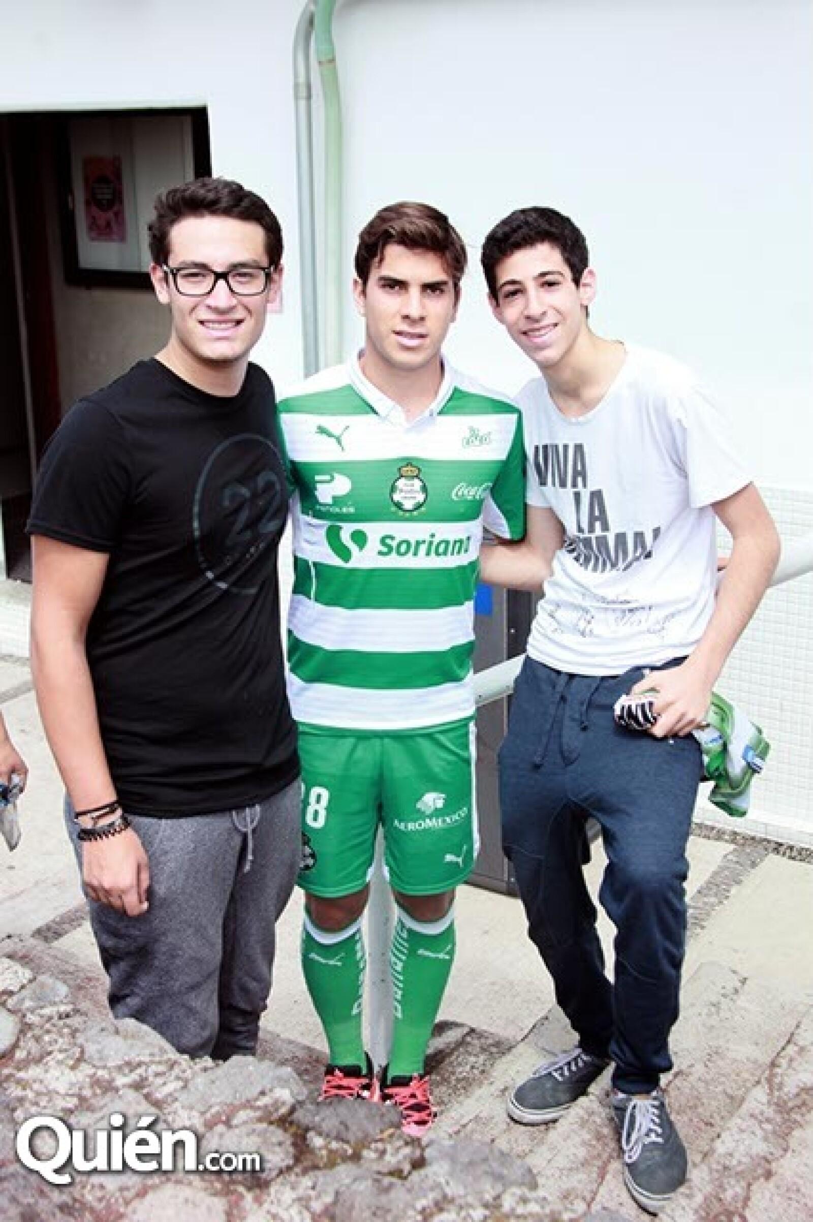 Gabriel Kleiman,Ulises Rivas y Damian Zayat