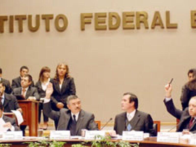 El IFE aprobó los topes de campaña para las elecciones a diputados de julio próximo. (Foto: Archivo NTX)