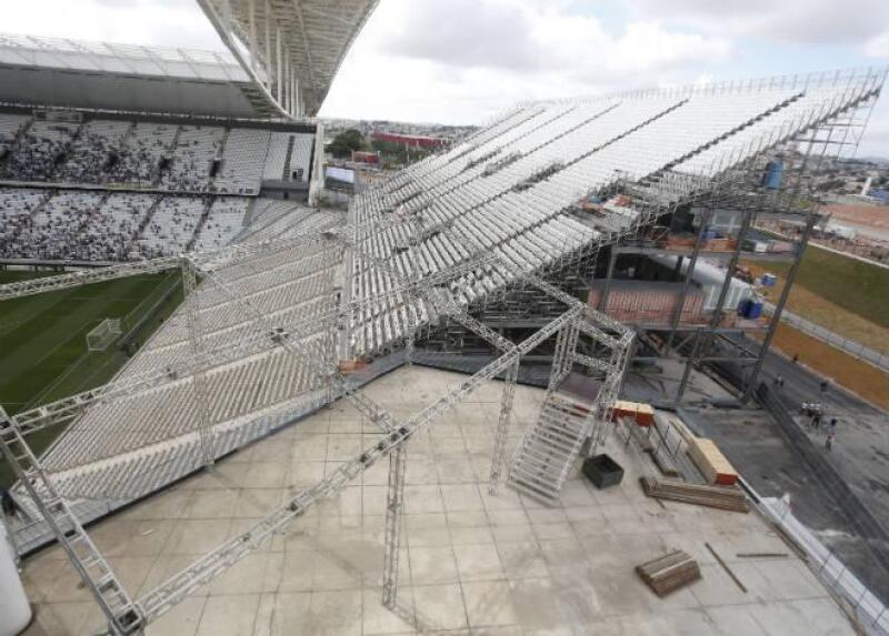 Arena Corinthians, Sao Paulo, Brasil