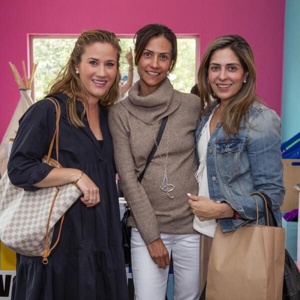 Regina de Velazco, Andrea Mancilla, Maria José Balaños Cacho