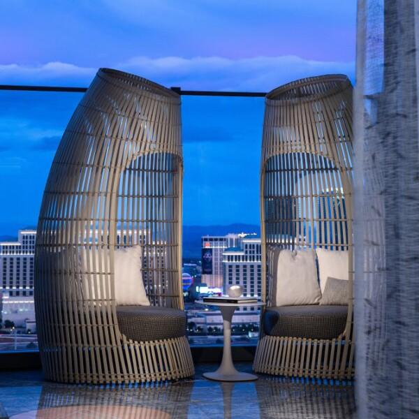 La suite de lujo en Palms Casino Resort de Las Vegas