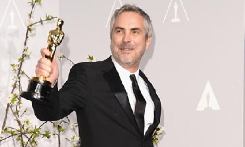 Alfonso Cuarón ganó el Óscar a mejor director por Gravity en la edición de 2014. (Foto: AFP)