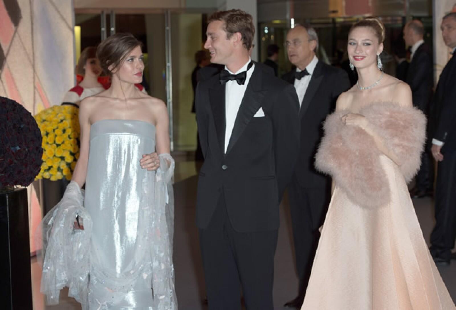 Carlota Casiraghi, Pierre Casiraghi y Beatrice Borromeo