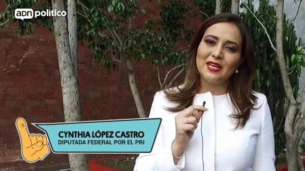#YoLegislador Cynthia López Castro