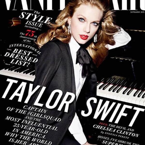 Vanity Fair: Taylor Swift lució más elegante y glamourosa que nunca en la portada. Las fotos fueron por Mario Testino.