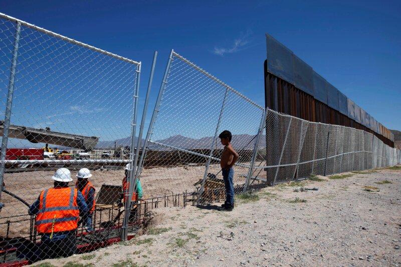 Entre Ciudad Juárez y Sunland Park, Nuevo México