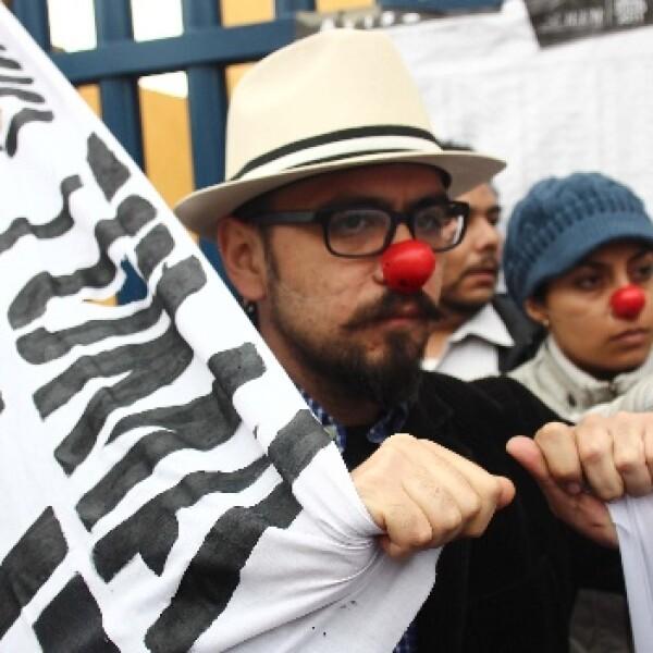 Protestas en las elecciones del Estod de México
