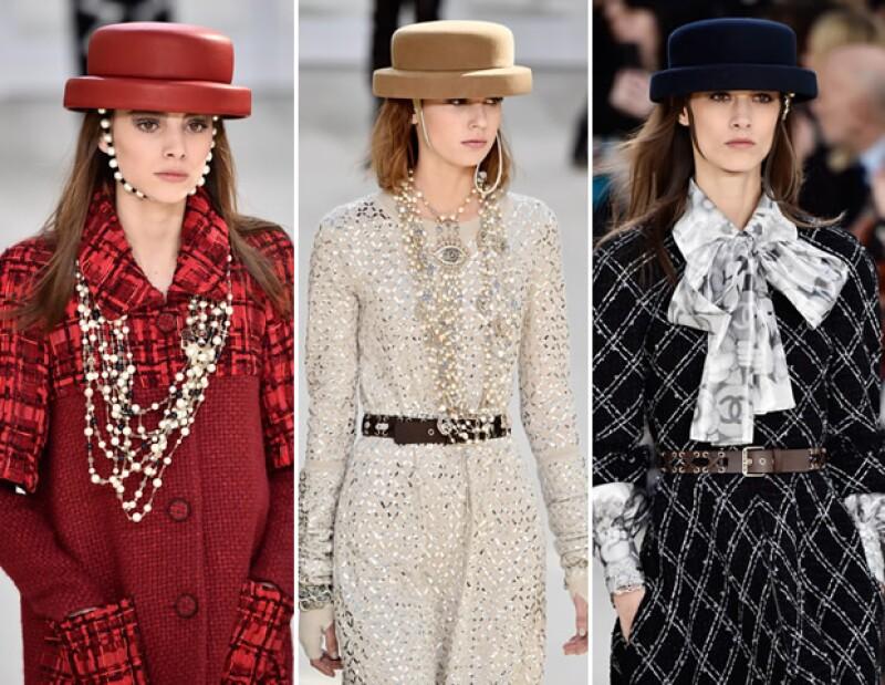 Los sombreros son un must para Fall Winter 2016.
