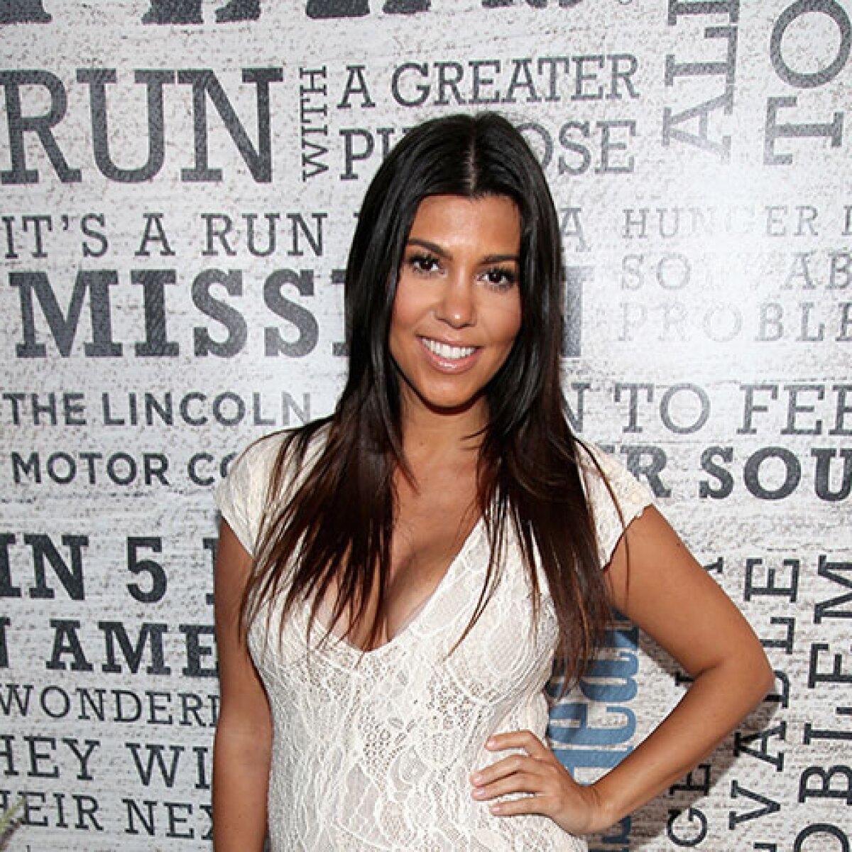 Kourtney Kardashian consume su propia placenta