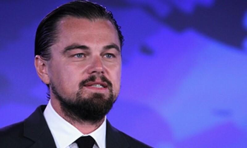 El actor de Hollywood, Leonardo DiCaprio, fue nombrado cofundador del equipo Venturi en 2013. (Foto: Getty Images)