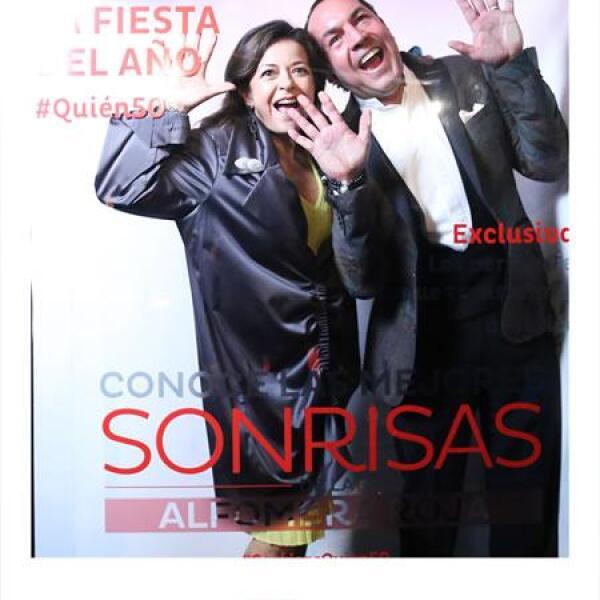 Fanny Carrillo y Guillermo González