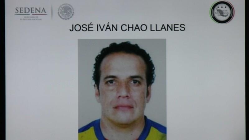 José Iván Chao Llanes, presunto líder delictivo que operaba en Tamaulipas, detenido en la Ciudad de México