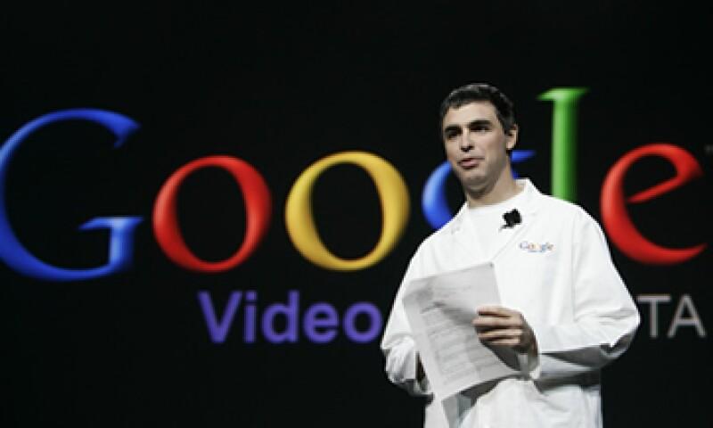 Larry Page necesita desarrollar una estrategia para superar a Facebook, quien ha acaparado casi el 50% de la capitalización de mercado de Google. (Foto: AP)