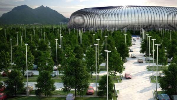 Estadio de los Rayados de Monterrey