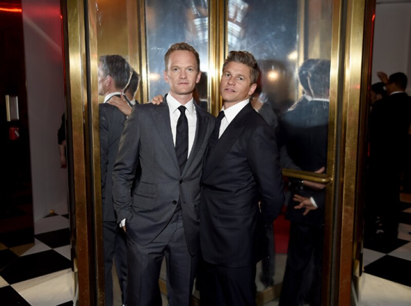 En 2010, Neil y David le dieron la bienvenida a sus gemelos.