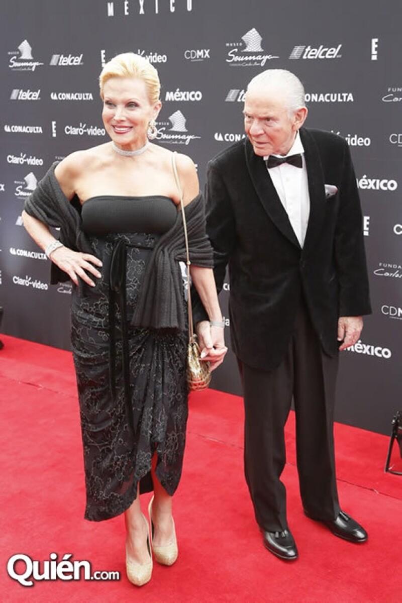 Raquel y su esposo León Bessudo.