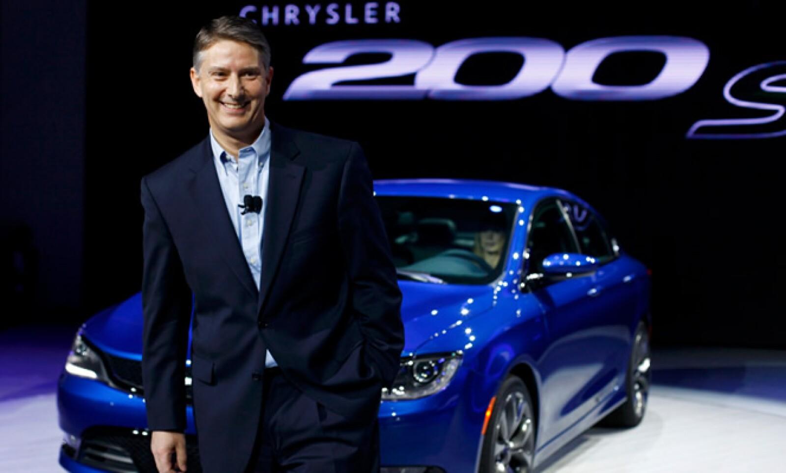 Al Gardner asistió a su primer Auto Show de Detroit  como líder de Chrysler, y a solo un mes de haber ocupado el cargo, reemplazando a Saad Chehab.