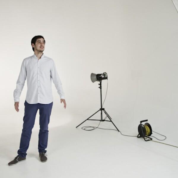 Mateo Dornier, fundador de Campo Vivo, compite con su empresa de productos orgánicos en la categoría de más de tres años.