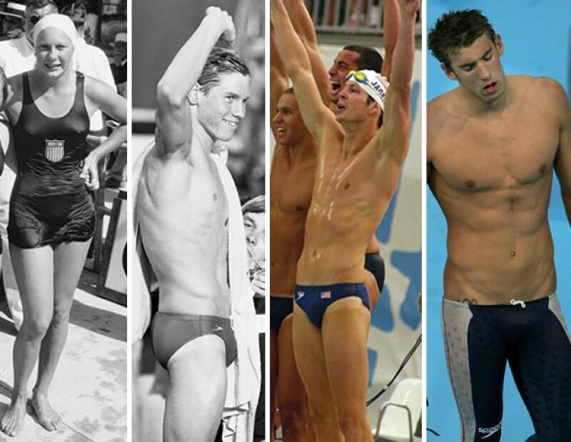 Diferentes cortes y la evolución de la confección y textiles han impulsado el desempeño de los atletas.