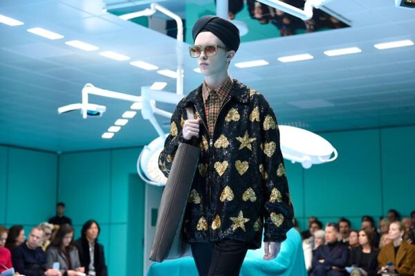 Gucci show, Runway, Fall Winter 2018, Milan Fashion Week, Italy - 21 Feb 2018