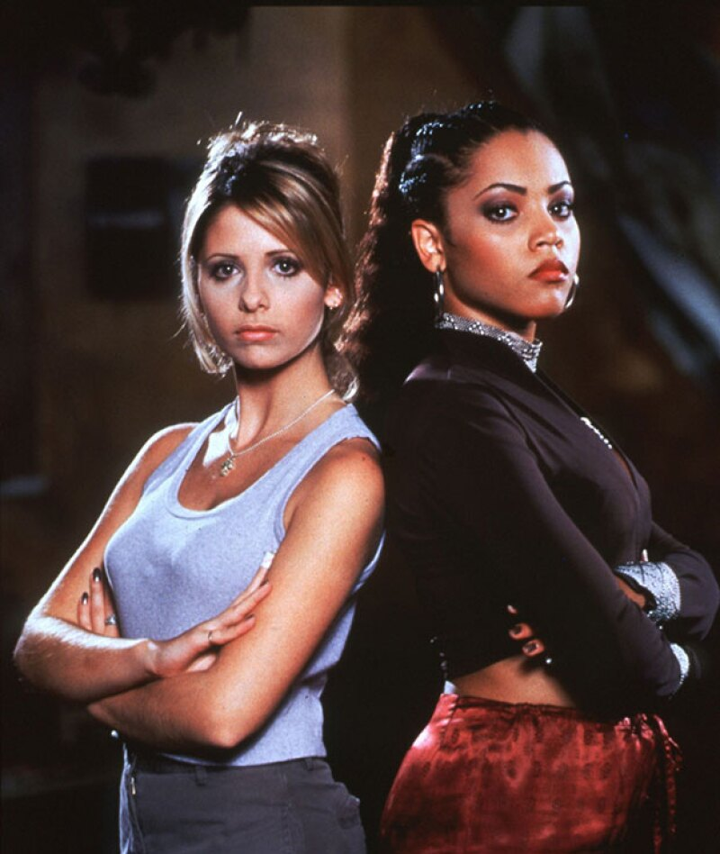 A los 19 años, la hermanastra de Beyoncé apareció en Buffy, como una cazavampiros.