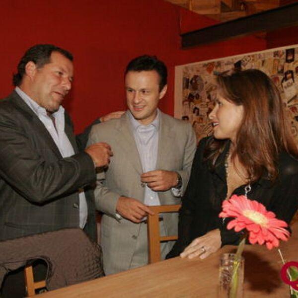 Jorge Forastieri, Carlos Esparza, Cecilia Rodríguez