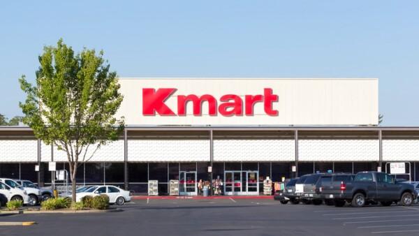 Kmart store entrance.