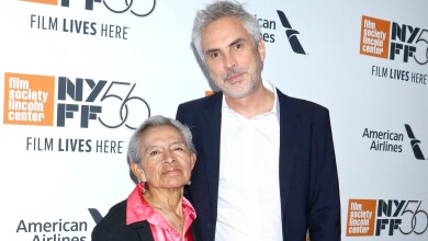 Alfonso Cuarón y Liboria Rodríguez