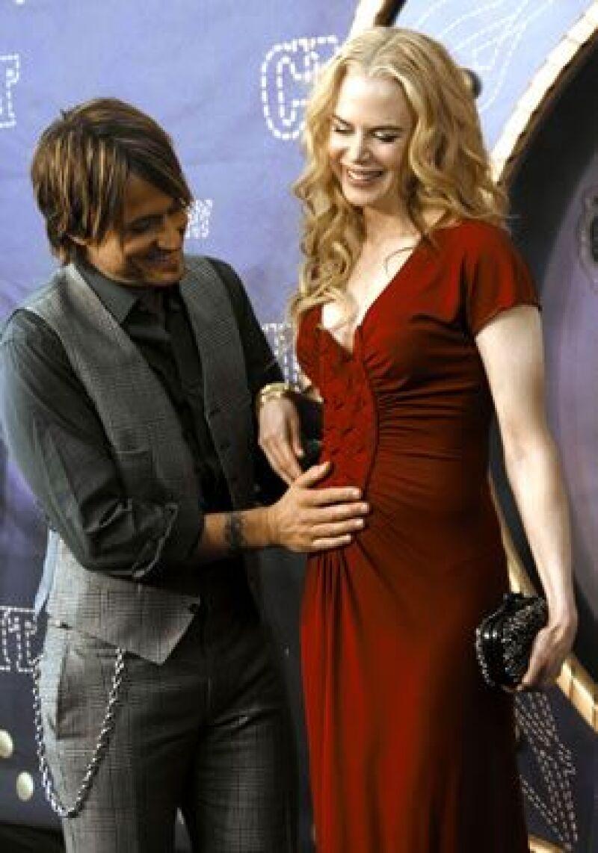 La actriz y otras siete mujeres que participaron en la filmación de la cinta Australia, quedaron embarazadas durante la producción.