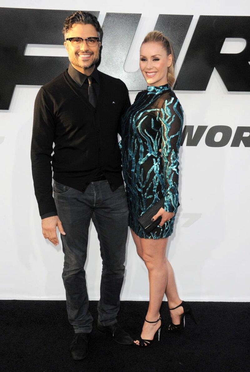 La pareja asistió a la premiere de la séptima entrega de la saga Fast & Furious, en donde, se mostraron como una de las más hot couples.