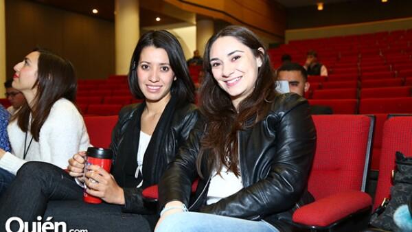 Laura Partida y Vanessa Pérez