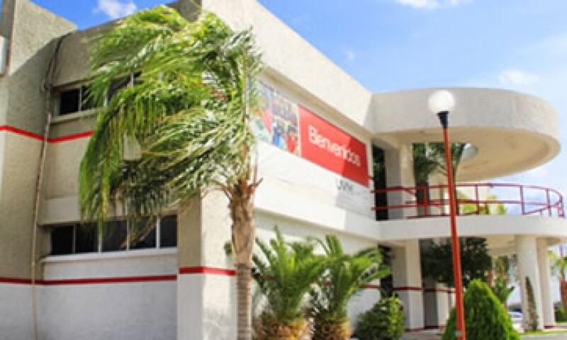 El campus de la UVM en Nuevo Laredo contaba con unos 700 estudiantes. (Foto: Tomada de universidaduvm.mx )