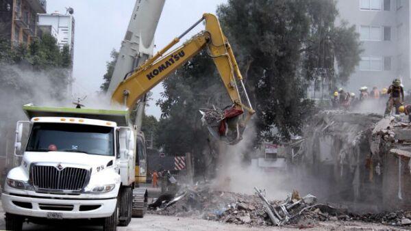 CDMX zona afectada por el sismo