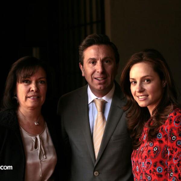 Cecilia Moctezuma, Rafael Micha y Fernanda Agundis