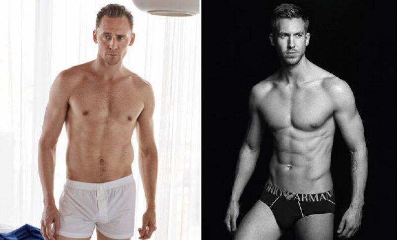 Tom posó para W Magazine, mientras Calvin es la imagen de Emporia Armani.