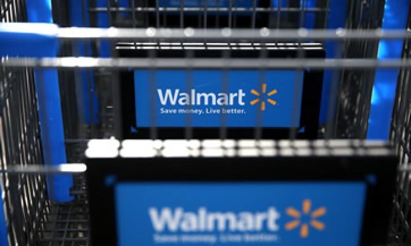 Las ventas totales de Walmart subieron 6.9% anual en mayo. (Foto: Getty Images)