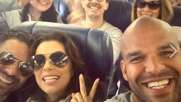 La actriz y su novio Pepe Bastón viajan a Texas, de donde es originaria ella, para celebrar su cumpleaños, este domingo.